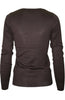 Long Sleeve Crew Neck Pullover Cardigan - BodiLove | 30% Off First Order  - 2