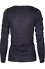 Long Sleeve Crew Neck Pullover Cardigan - BodiLove | 30% Off First Order  - 18