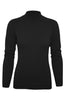 Silk Blend Stretch Knit Mock Turtleneck - BodiLove | 30% Off First Order - 34