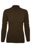 Silk Blend Stretch Knit Mock Turtleneck - BodiLove | 30% Off First Order - 19