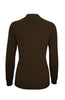 Silk Blend Stretch Knit Mock Turtleneck - BodiLove | 30% Off First Order - 20