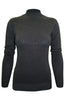 Silk Blend Stretch Knit Mock Turtleneck - BodiLove | 30% Off First Order - 8