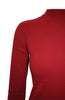 Silk Blend Stretch Knit Mock Turtleneck - BodiLove | 30% Off First Order - 27