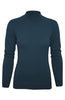 Silk Blend Stretch Knit Mock Turtleneck - BodiLove | 30% Off First Order - 2