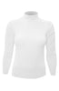 Silk Blend Stretch Knit Mock Turtleneck - BodiLove | 30% Off First Order - 30