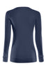 Long Sleeve Lightweight Crew Neck Sweatshirt | 30% Off First Order | Navy