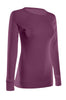 Long Sleeve Lightweight Crew Neck Sweatshirt | 30% Off First Order | Magenta