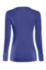 Long Sleeve Lightweight Crew Neck Sweatshirt | 30% Off First Order | Royal Blue