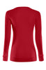 Long Sleeve Lightweight Crew Neck Sweatshirt | 30% Off First Order | Red