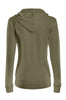 Drawstring Hooded Thermal Zip Up Sweater | 30% Off First Order | Olive