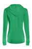Drawstring Hooded Thermal Zip Up Sweater | 30% Off First Order | Green
