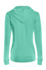 Drawstring Hooded Thermal Zip Up Sweater | 30% Off First Order | Mint
