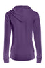 Drawstring Hooded Thermal Zip Up Sweater | 30% Off First Order | Purple