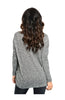 Long Sleeve V-Neck Sweater W/ Crochet Trim - BodiLove | 30% Off First Order  - 2