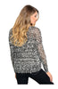 Long Sleeve Open Cable Knit Pull Over Sweater - BodiLove | 30% Off First Order  - 3