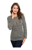 Long Sleeve Pull Over Crew Neck Sweater - BodiLove | 30% Off First Order  - 1