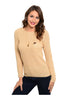 Long Sleeve Pull Over Crew Neck Sweater - BodiLove | 30% Off First Order  - 3