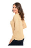 Long Sleeve Pull Over Crew Neck Sweater - BodiLove | 30% Off First Order  - 4