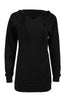 Hooded Long Sleeve Tunic Length Sweatshirt - BodiLove | 30% Off First Order - 1