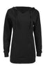Hooded Long Sleeve Tunic Length Sweatshirt - BodiLove | 30% Off First Order - 4