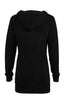 Hooded Long Sleeve Tunic Length Sweatshirt - BodiLove | 30% Off First Order - 2
