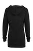 Hooded Long Sleeve Tunic Length Sweatshirt - BodiLove | 30% Off First Order - 5