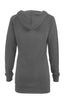 Hooded Long Sleeve Tunic Length Sweatshirt - BodiLove | 30% Off First Order - 8