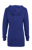 Hooded Long Sleeve Tunic Length Sweatshirt - BodiLove | 30% Off First Order - 11