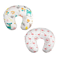 ALVABABY 2 Pack Pillow Cover Soft and Comfortable for Breastfeeding Moms Soft Fabric Fits Snug On Infant Nursing Pillows to Mothers While Breast Feeding Baby Shower Gift 2UBZTW05