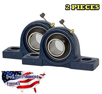 "UCP202-10 Pillow Block Bearing 5/8"" Bore 2 Bolt Solid Base (2 Pieces)"