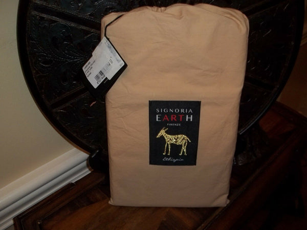 NIP Signoria Firenze Earth Ethiopia Savana Sand Beige King Pillowcases $250