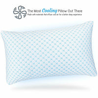 #1 NEW! Orthopedic Bed Pillow - Classic King/Queen - Fresh Cooling Gel Comfort