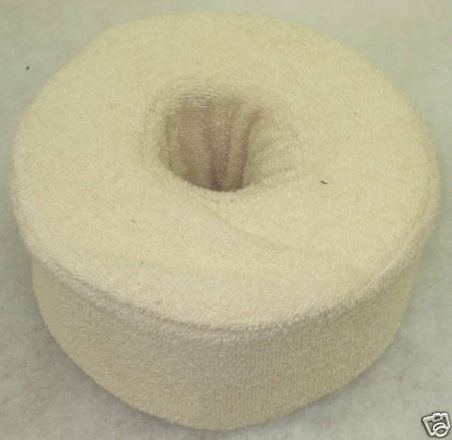 "1 MEDICAL BED MEMORY FOAM EAR PILLOW ORTHOPEDIC SUPPORT 6"" x 6"" x 3"""