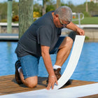 Premium PVC Deck & Dock Plank Covering (48