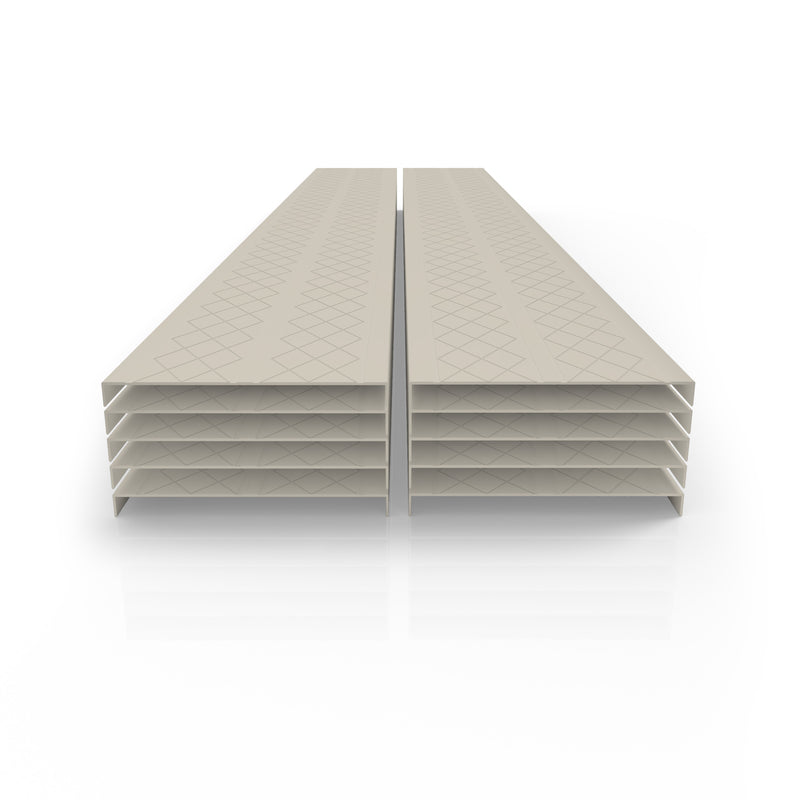 Premium Quality PVC Deck & Dock Cover - 12 ft. Plank 10 Pack (120 Linear Feet)