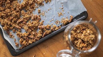 Spicy Carrot Granola