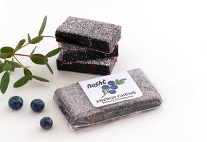 Nosht bilberry & eucalyptus sports energy chews
