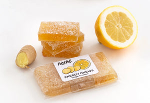 GINGER & LEMON ENERGY CHEWS
