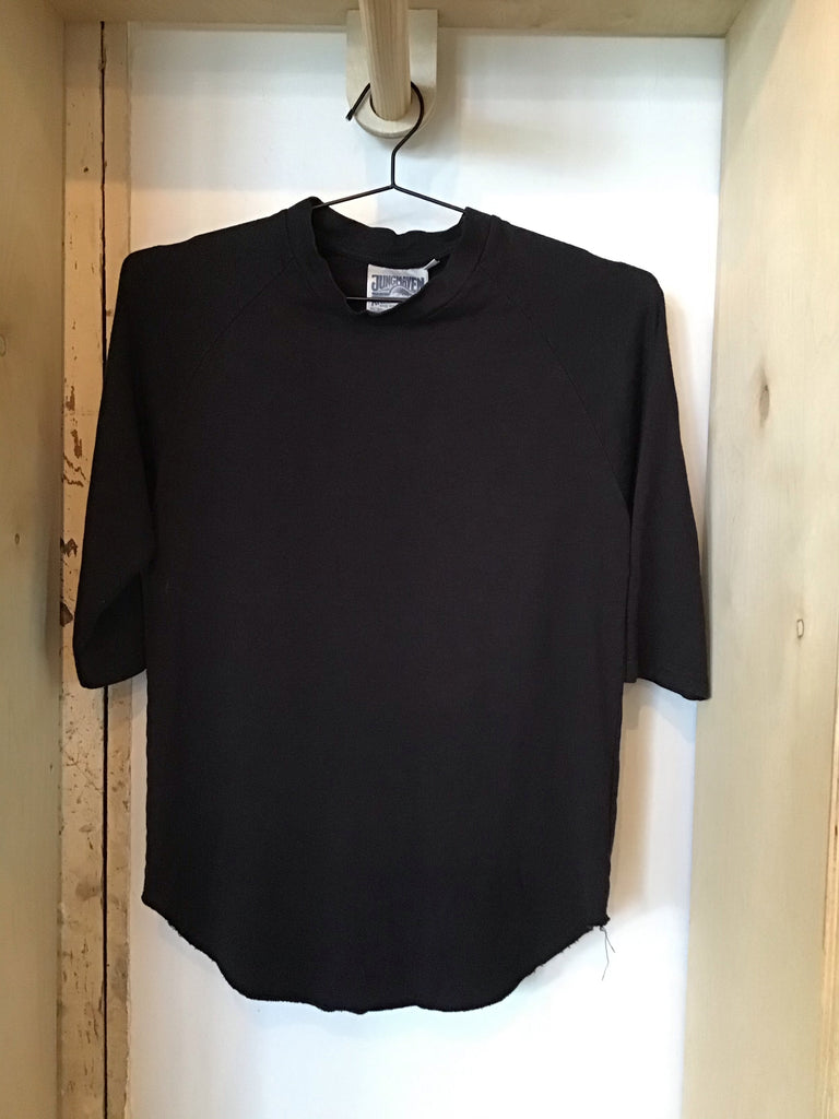 Black 3/4 sleeve T-shirt