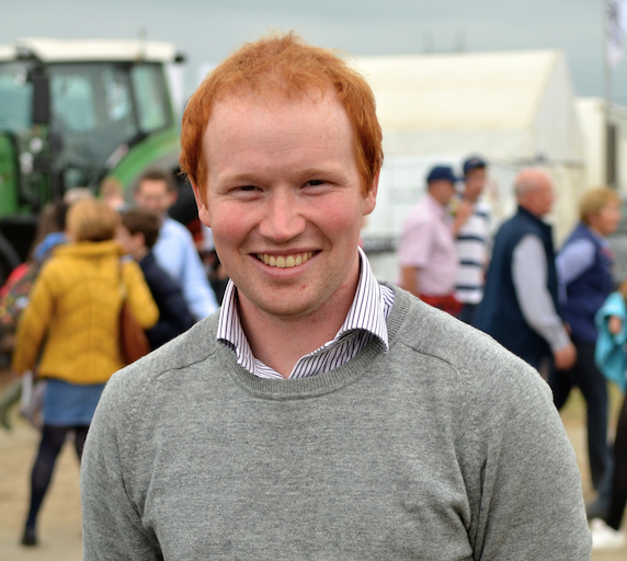 Aonghus Giggins at Farm Tours Ireland