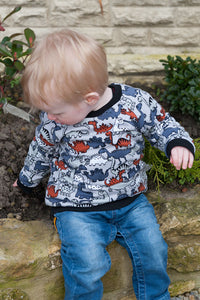 Made By Jacks Mum Adventurer Raglan Sweatshirt