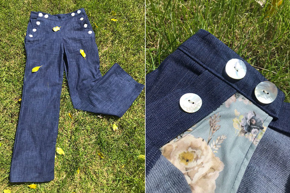 Finished Romero Jeans