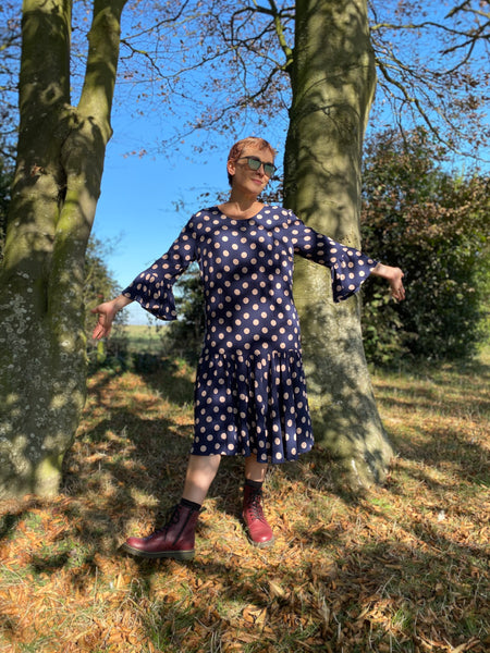 Sewroo By Hand London Eloise Dress Without Waist Ties