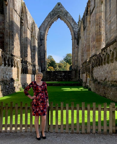 The Charlotte Dress at Bolton Abbey