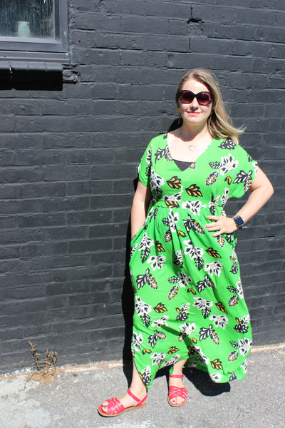 Emma's Closet Core Patterns Charlie Caftan