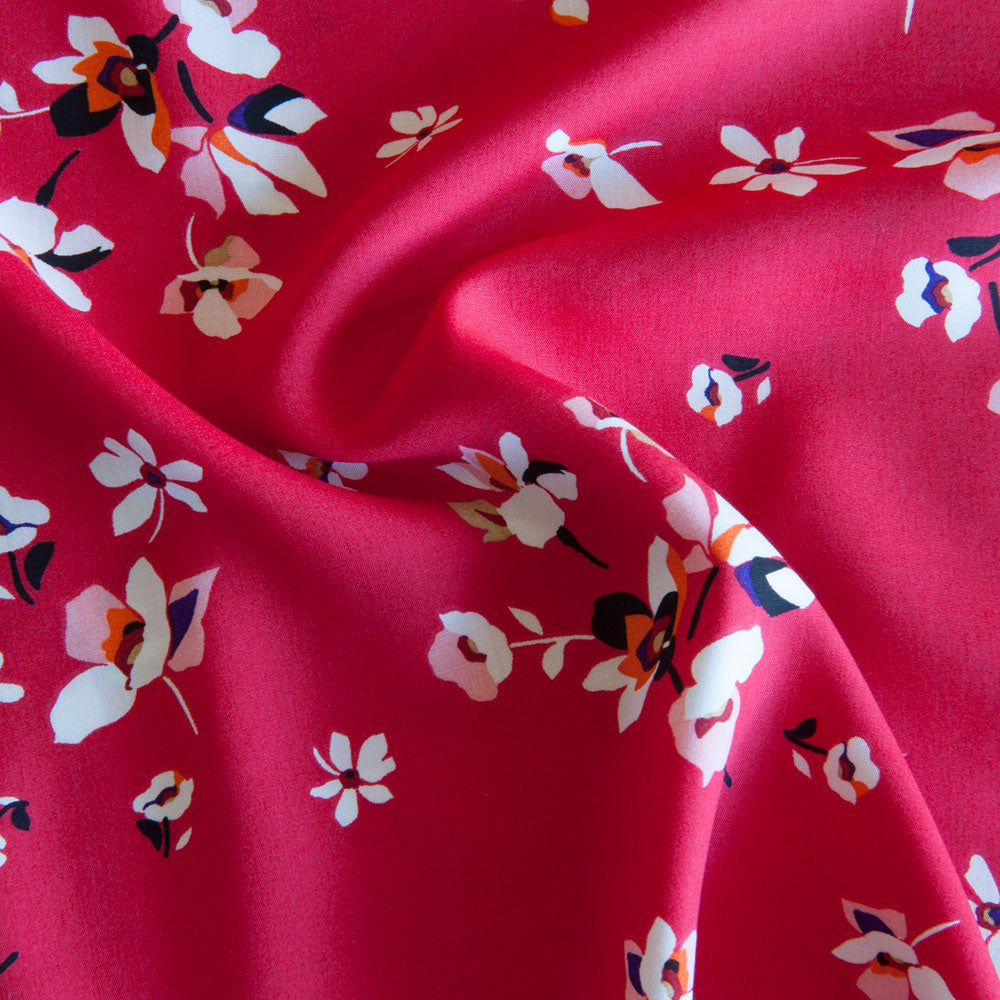Adeline Viscose in Pink