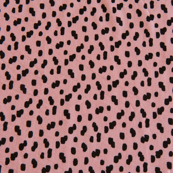 Amanda Viscose in Pink - 1m Piece