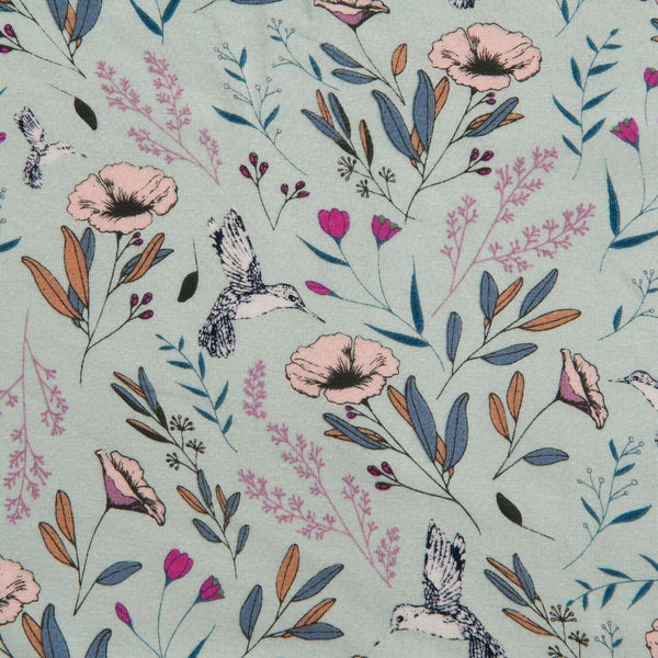 Art Gallery Fabrics -  Magic Fauna Waterfall Cotton Jersey