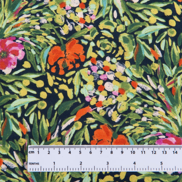 Art Gallery Fabrics -   Writers Garden Stem Cotton Jersey