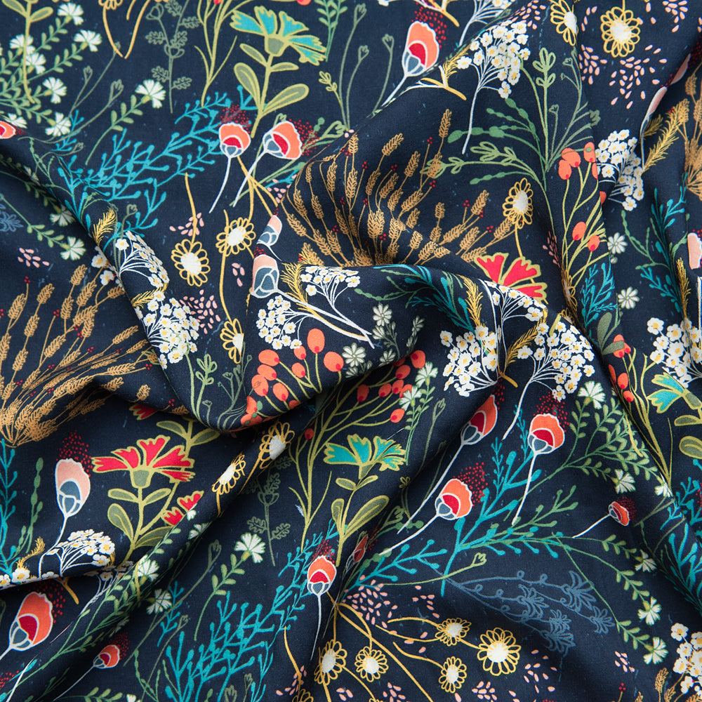 Art Gallery Fabrics - Meadow Dim Rayon